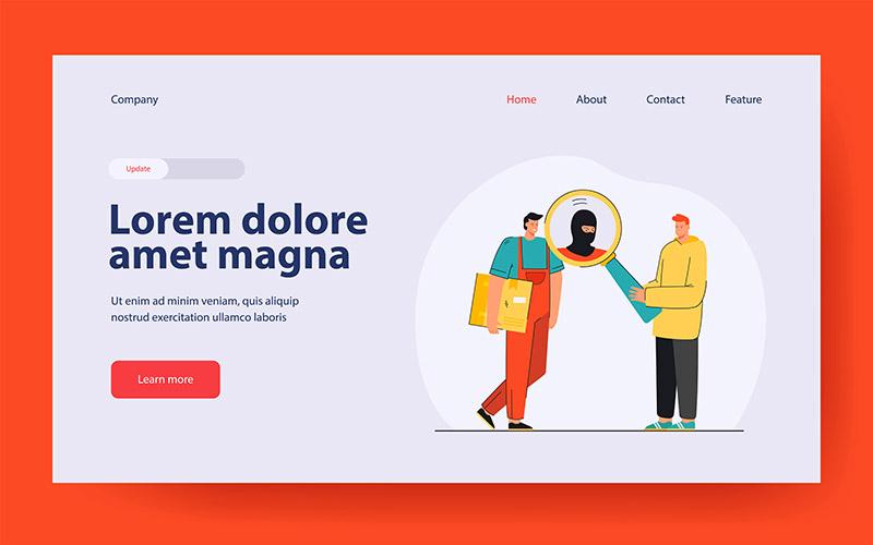 Thiết Kế Website Dịch Vụ Bảo Vệ Giá Rẻ
