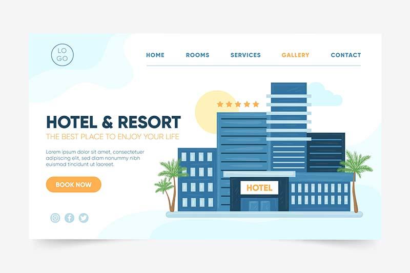 Thiết Kế Website Nhà Hàng - Khách Sạn Giá Rẻ