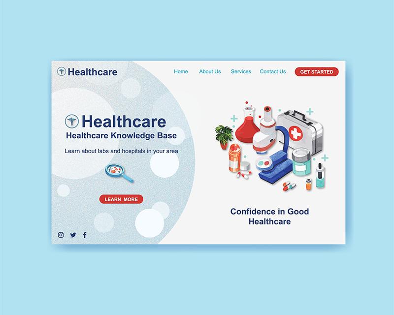 Thiết Kế Website Thiết Bị - Dụng Cụ Y Tế Giá Rẻ