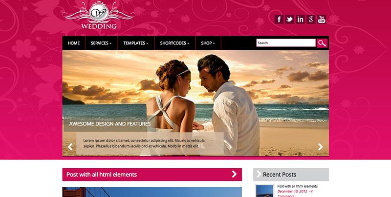 Thiết Kế Website Nhà Hàng Tiệc Cưới Giá Rẻ